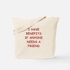 benefits Tote Bag