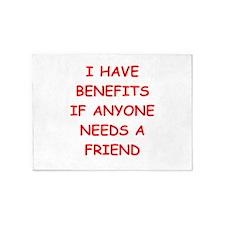 benefits 5'x7'Area Rug