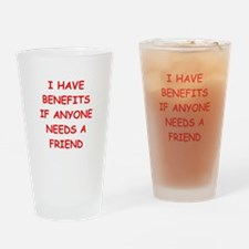 benefits Drinking Glass