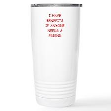 benefits Travel Mug