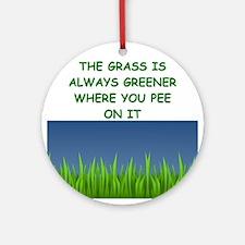 grass Ornament (Round)