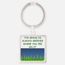 grass Keychains