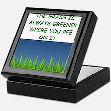 grass Keepsake Box
