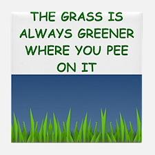 grass Tile Coaster