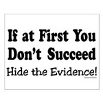Hide the Evidence Small Poster