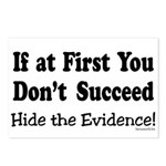 Hide the Evidence Postcards (Package of 8)