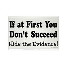 Hide the Evidence Rectangle Magnet (10 pack)