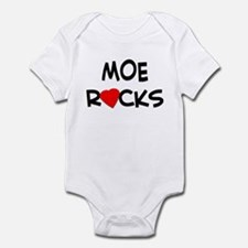 MOE ROCKS Infant Bodysuit