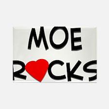 MOE ROCKS Rectangle Magnet