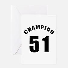 51 Champion Birthday Designs Greeting Card