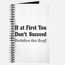 Redefine the Goal Journal