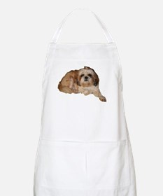 It's all about the Shih Tzu. BBQ Apron