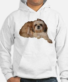 It's all about the Shih Tzu. Hoodie