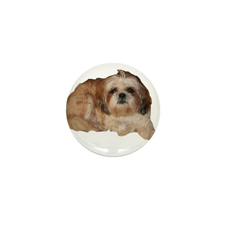 It's all about the Shih Tzu. Mini Button (100 pack