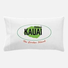 Hawaii KAUAI, The Garden Island Pillow Case