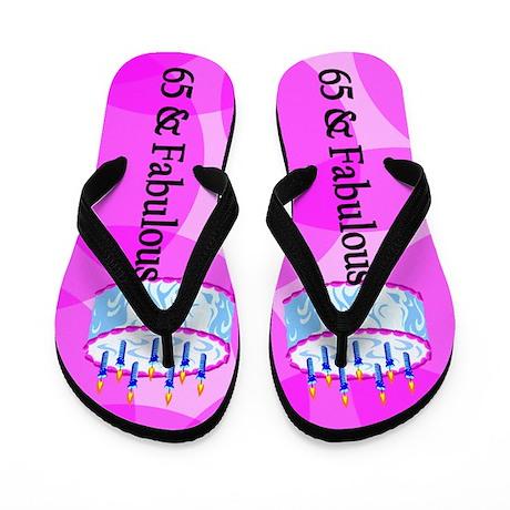 Stylish 65th Flip Flops