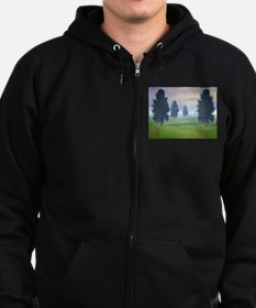 Fairway To Seven Zip Hoodie