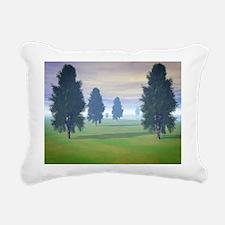 Fairway To Seven Rectangular Canvas Pillow