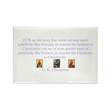 Saints Rectangle Magnet (10 pack)