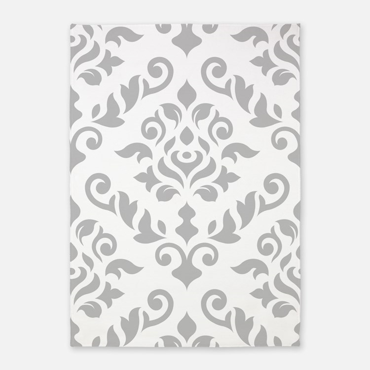 Gray And White Damask Bedding Gray And White Damask