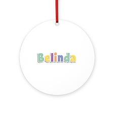 Belinda Spring14 Round Ornament
