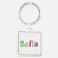 Bella Spring14 Square Keychain