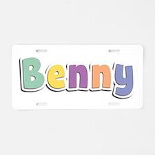 Benny Spring14 Aluminum License Plate