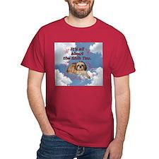 Shih Tzu in the Sky with Diam T-Shirt