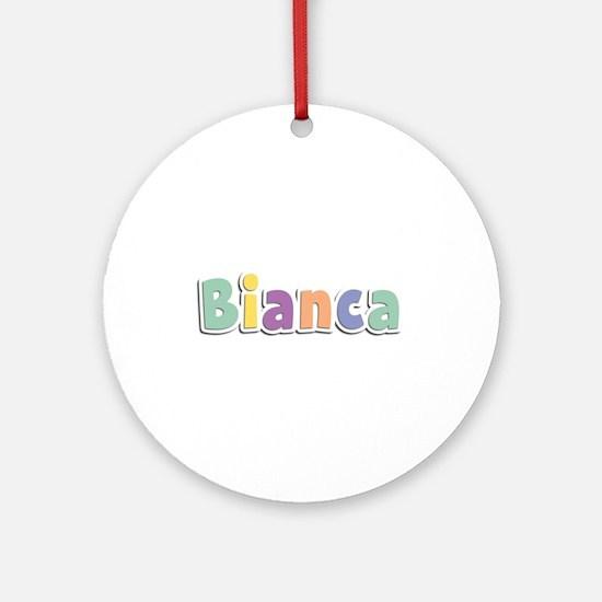 Bianca Spring14 Round Ornament