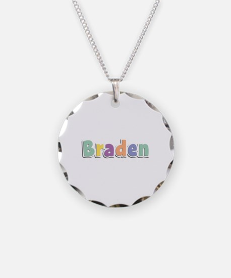Braden Spring14 Necklace Circle Charm