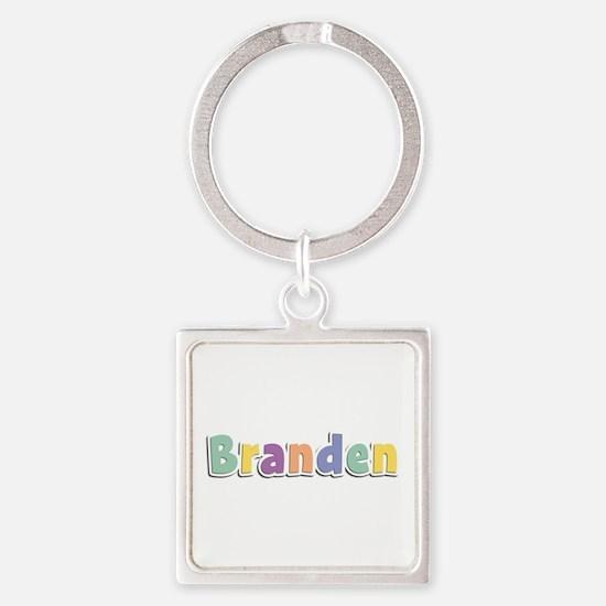 Branden Spring14 Square Keychain