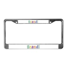 Brandi Spring14 License Plate Frame
