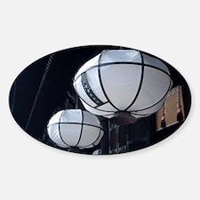 Nigatsu-do paper lanterns Decal