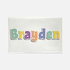 Brayden Spring14 Rectangle Magnet