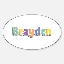 Brayden Spring14 Oval Decal