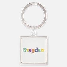 Brayden Spring14 Square Keychain