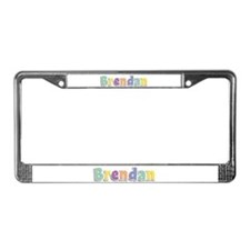 Brendan Spring14 License Plate Frame