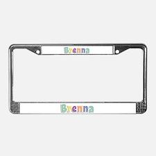 Brenna Spring14 License Plate Frame
