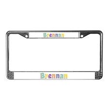 Brennan Spring14 License Plate Frame