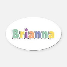 Brianna Spring14 Oval Car Magnet