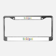 Bridget Spring14 License Plate Frame