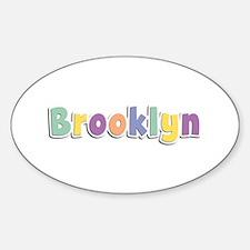 Brooklyn Spring14 Oval Decal