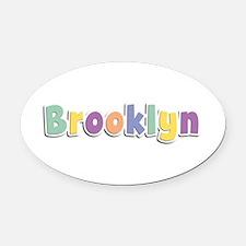 Brooklyn Spring14 Oval Car Magnet