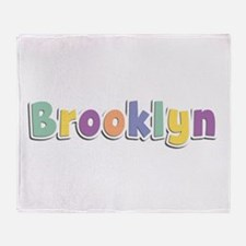 Brooklyn Spring14 Throw Blanket