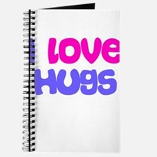 I LOVE HUGS Journal