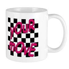 Your Move - Chess Board Small Small Mug