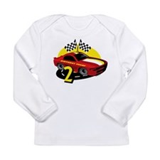 Race Car 2nd Birthday Long Sleeve Infant T-Shirt