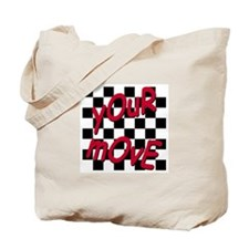 Your Move - Chess Board Tote Bag