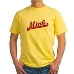 Mink Yellow T-Shirt