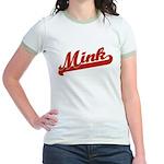 Mink Jr. Ringer T-Shirt